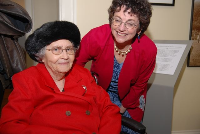 Beth Taylor and Sylvia Jennings Alexander